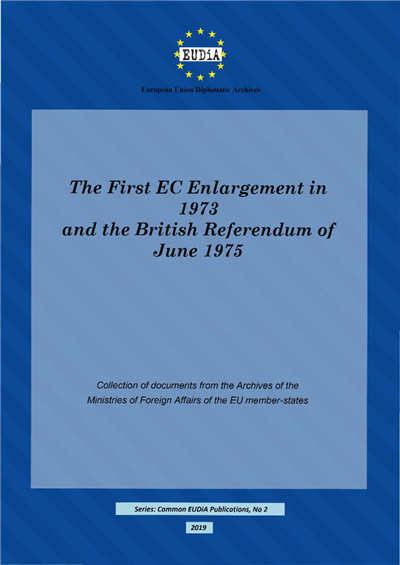 Capa The First EC Enlargement in 1973 and the British Referendum of June 5